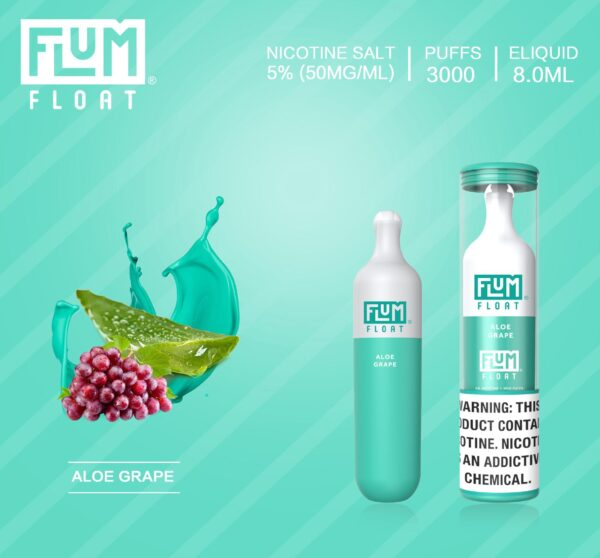 Flum Float Aloe Grape