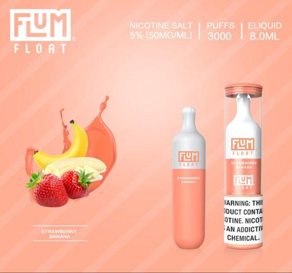 Flum Float Strawberry Banana