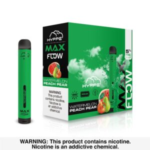 Hyppe Max Flow Watermelon Peach Pear disposable vape