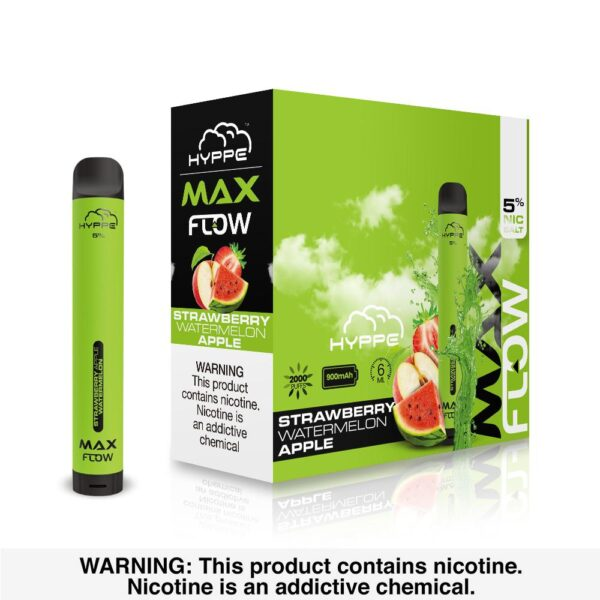Hyppe Max Flow Strawberry Watermelon Apple