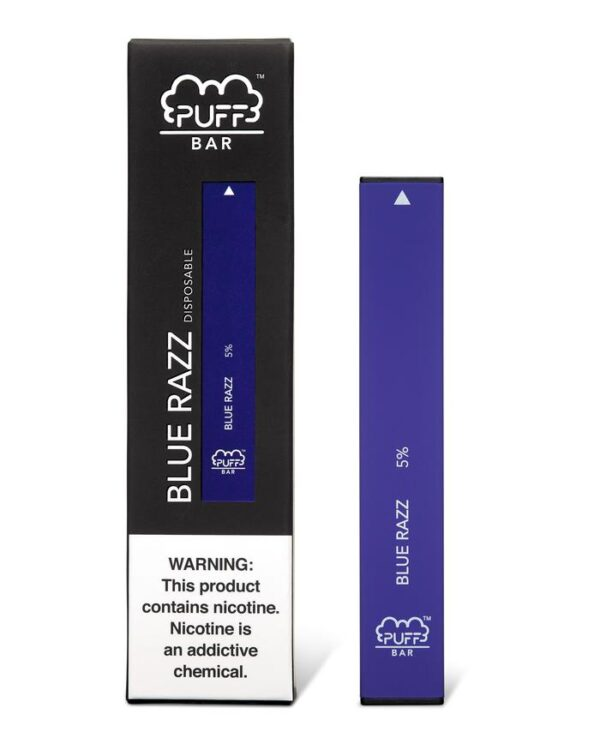 Puff Bar Blue Razz