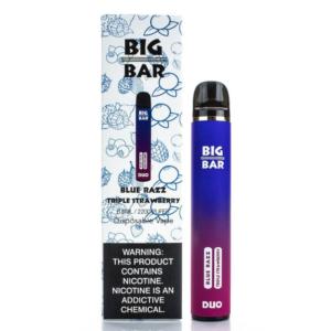 Big Bar Duo Blue Razz Triple Strawberry