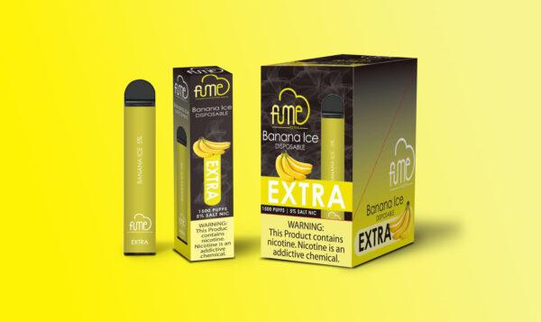 Fume Extra Banana Ice