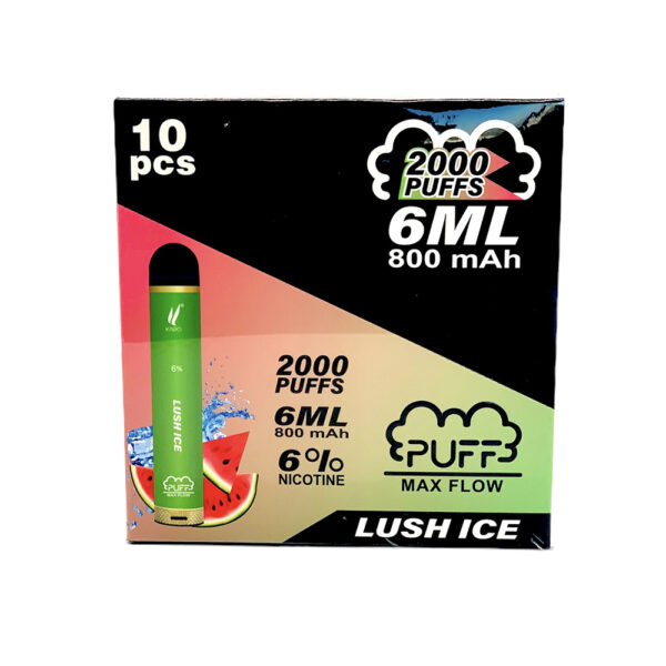 Puff Max Flow Lush Ice