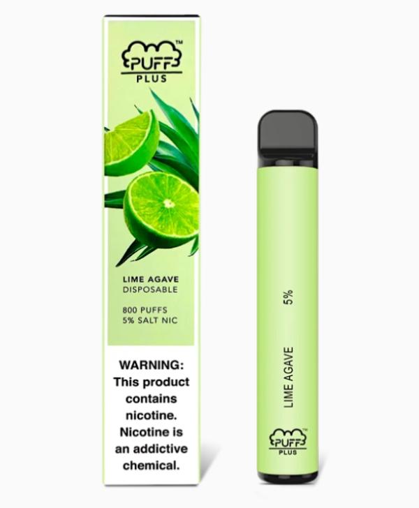 Puff Plus Lime Agava