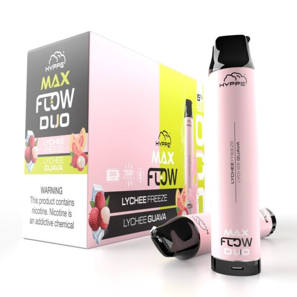 Hyppe max flow duo lychee freeze guava